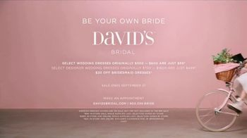David's Bridal TV Spot, 'Be Your Own Bride: Be Wild' Song by Danger Twins - Thumbnail 10