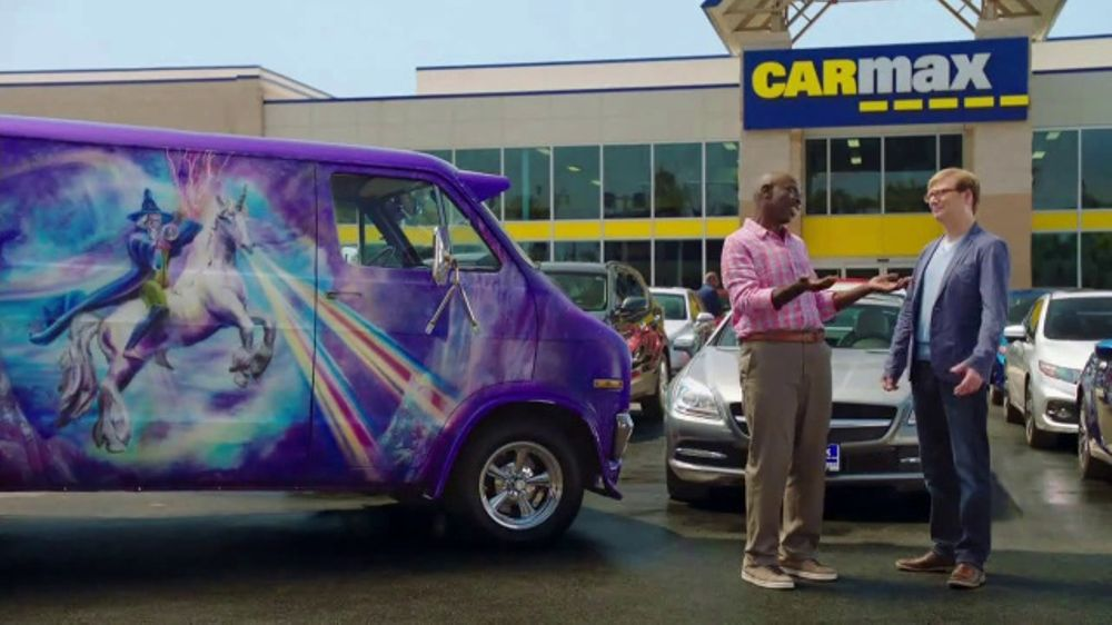CarMax TV Commercial, 'Purple Wizard Van' Featuring Andy Daly - Video