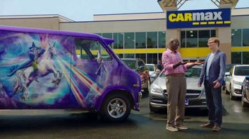 CarMax TV Spot, 'Purple Wizard Van' Featuring Andy Daly - 2888 commercial airings