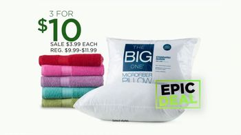 Kohl's TV Spot, 'Stock Up, Save Big: Towels, Dinnerware and Luggage' - Thumbnail 4