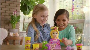 Play-Doh Disney Princess Rapunzel Royal Salon TV Spot, 'Disney Channel' - 1139 commercial airings