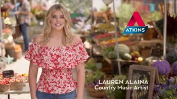 Atkins Harvest Trail Bars TV Spot, 'Lauren Alaina's Favorite Atkins Snack' - Thumbnail 1
