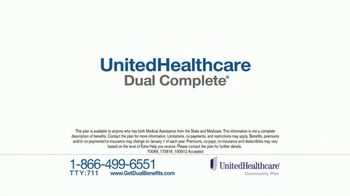 UnitedHealthcare Dual Complete TV Spot, 'Get More Benefits' - Thumbnail 1