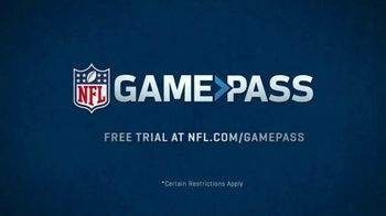 NFL Game Pass TV Spot, 'Toe Drags & Strip Sacks' - Thumbnail 10