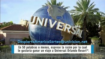 Despierta América TV Spot, 'Universal Orlando Resort sorteo' [Spanish] - Thumbnail 1