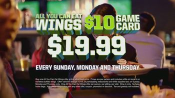 Dave and Buster's TV Spot, 'All-You-Can-Eat Wings' Featuring Lee Corso - Thumbnail 4