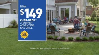 Lowe's Labor Day Savings Event TV Spot, 'The Moment: Backyard: Grill' - Thumbnail 10