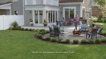 Lowe's Labor Day Savings Event TV Spot, 'The Moment: Backyard: Grill' - Thumbnail 9