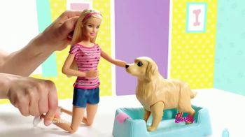 Barbie Newborn Pups TV Spot, 'Puppies' - Thumbnail 2