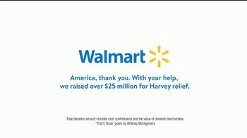 Walmart TV Spot, 'Harvey Relief: That's Texas' - Thumbnail 6