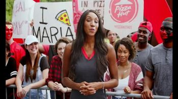 Pizza Hut Rewards TV Spot, 'ESPN: More Free Pizza' Featuring Maria Taylor - 4 commercial airings