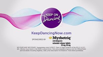 Myrbetriq TV Spot, 'Keep On Dancing Sweepstakes' Featuring Lea Thompson - Thumbnail 8
