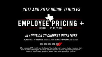 2018 Dodge Employee Pricing TV Spot, 'Born This Way: Hurricane Harvey' [T2] - Thumbnail 9