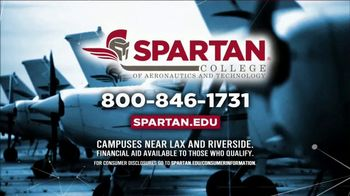 Spartan College of Aeronautics and Technology TV Spot, 'Curiosity' - Thumbnail 8