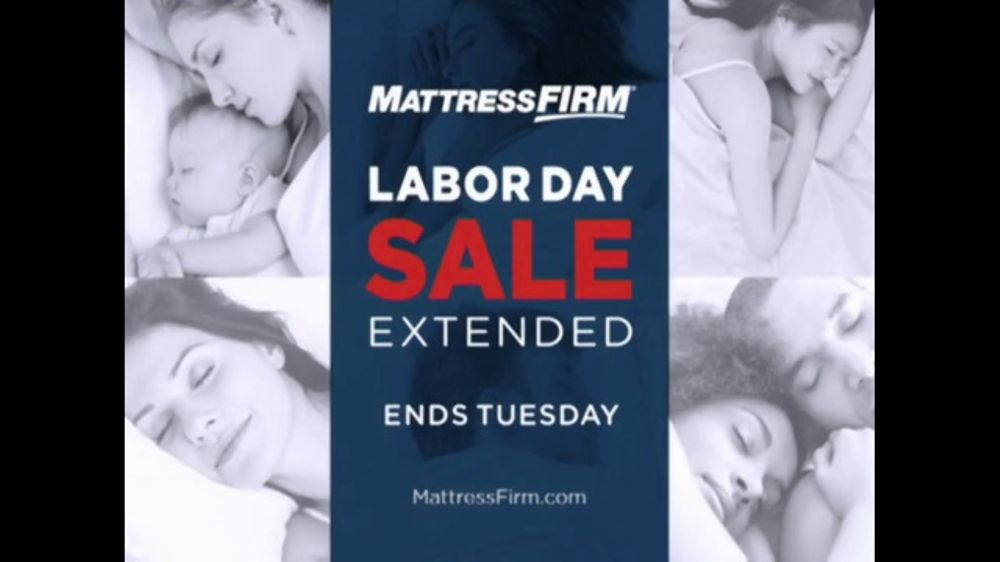 Mattress Firm Labor Day Sale TV Commercial, 'Sale Extended'