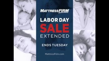 Mattress Firm Labor Day Sale TV Spot, 'Sale Extended' - Thumbnail 1