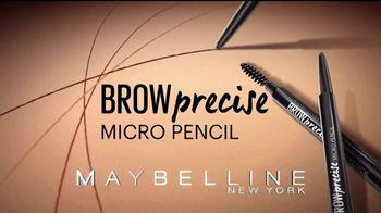 Maybelline New York Brow Precise Micro Pencil TV Spot, 'Rellena' [Spanish] - Thumbnail 4