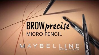 Maybelline New York Brow Precise Micro Pencil TV Spot, 'Rellena' [Spanish] - Thumbnail 8
