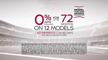 Nissan Bottom Line Model Year-End Event TV Spot, 'Heisman Trophy' [T2] - Thumbnail 10