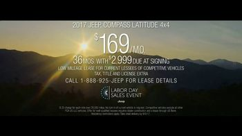 Jeep Labor Day Sales Event TV Spot, 'Traffic Jams' [T2] - Thumbnail 8