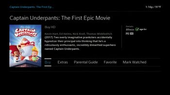 XFINITY On Demand TV Spot, 'Captain Underpants: The First Epic Movie' - Thumbnail 9