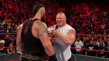 WWE Network TV Spot, 'No Mercy: Brock Lesnar vs. Braun Strowman'