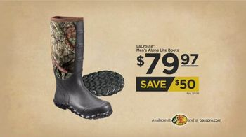 Bass Pro Shops TV Spot, 'Hoodies, Camera Bundles and Boots' Ft. Bill Dance - Thumbnail 7