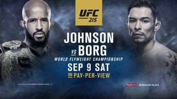 Pay-Per-View TV Spot, 'UFC 215: Johnson vs. Borg' Song by Welshly Arms - Thumbnail 7