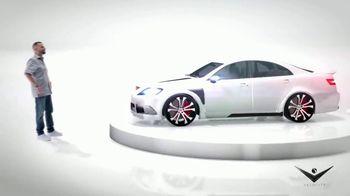 Toyota C-HR TV Spot, 'Velocity: Work of Art' Featuring Alex Vega [T1] - 33 commercial airings
