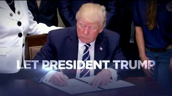 Republican National Committee TV Spot, 'Let President Trump Do His Job' - Thumbnail 9