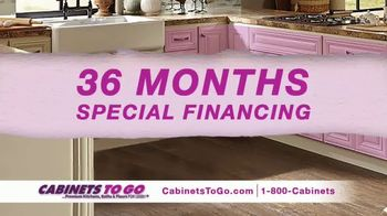 Cabinets To Go TV Spot, 'Your Dream Kitchen' Featuring Ty Pennington - Thumbnail 5