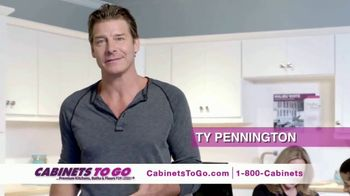 Cabinets To Go TV Spot, 'Your Dream Kitchen' Featuring Ty Pennington - 93 commercial airings