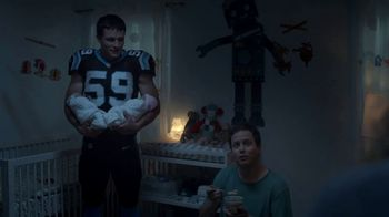Campbell's Chunky Maxx Soup TV Spot, '3 a.m. Feeding With Luke Kuechly'