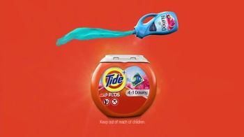 Tide PODS Plus Downy TV Spot, 'Denim Hacks Made Simple' - Thumbnail 8