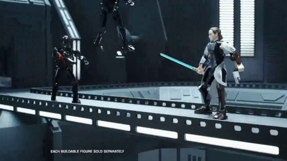 Lego Star Wars Buildable Figures Tv Commercial Build The Battle