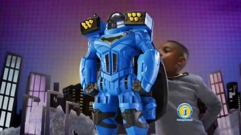 Imaginext DC Super Friends Batbot Xtreme TV Spot, 'Ice'