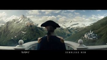 Evony: The King's Return TV Spot, 'The World of Evony' Feat. Aaron Eckhart - 732 commercial airings
