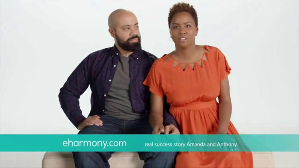 Who is the actress in the eharmony speed dating commercial
