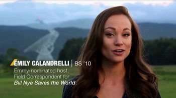 West Virginia University TV Spot, 'Emily Calandrelli'