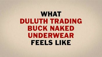 Duluth Trading Company Buck Naked Underwear TV Spot, 'Tighten Up' - Thumbnail 3