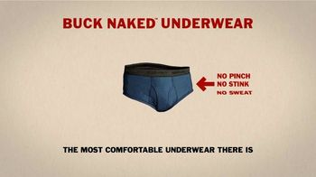 Duluth Trading Company Buck Naked Underwear TV Spot, 'Tighten Up' - Thumbnail 8