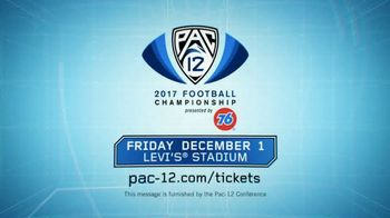 2017 Pac-12 Football Championship TV Spot, 'Levi's Stadium: Buy Tickets' - Thumbnail 6