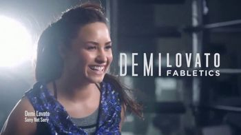 Fabletics.com Labor Day Sale TV Spot, 'Amazing Fit' Feat. Demi Lovato - 17 commercial airings