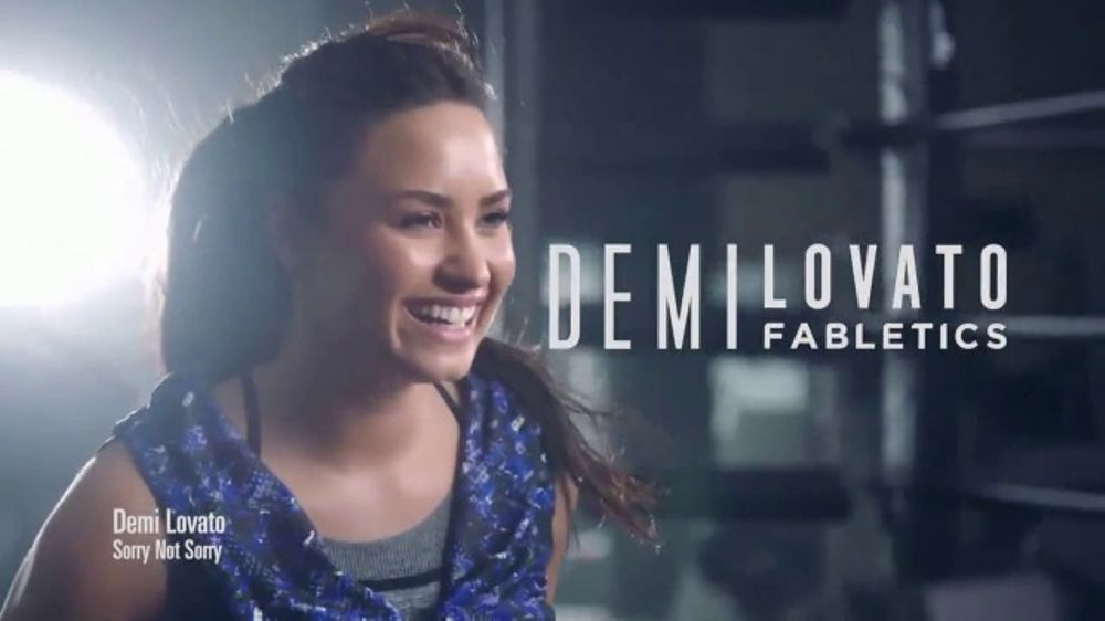 Fabletics.com Labor Day Sale TV Commercial, 'Amazing Fit' Feat. Demi Lovato