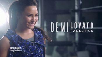 Fabletics.com Labor Day Sale TV Spot, 'Amazing Fit' Feat. Demi Lovato - Thumbnail 1