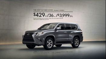 Lexus Golden Opportunity Sales Event TV Spot, 'Technology: 2017 GX 460' [T2] - Thumbnail 9