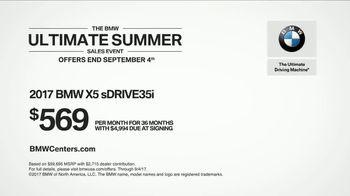 BMW Ultimate Summer Sales Event TV Spot, 'Perfect Sense: 2017 X5 sDRIVE35i' [T2] - Thumbnail 10