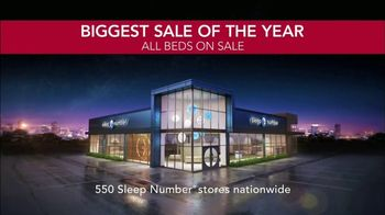 Sleep Number Biggest Sale of the Year TV Spot, 'Future of Sleep: c2 Queen' - Thumbnail 8