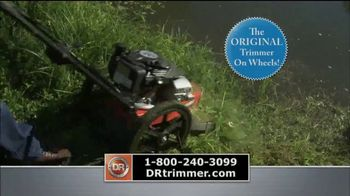 DR Trimmer Mower TV Spot, 'The Original Trimmer on Wheels' - Thumbnail 1