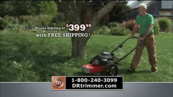 DR Trimmer Mower TV Spot, 'The Original Trimmer on Wheels' - Thumbnail 6
